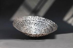 Schale aus Fein Silber (2)