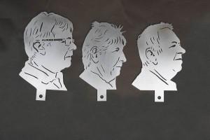 gelaserte Portraits (6)