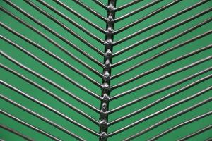kleines Blatt  aus Stahl (3)