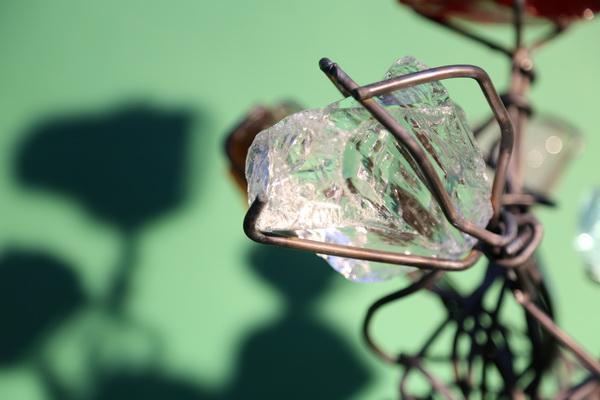 Blume aus Draht und Glas | Schmitzlab