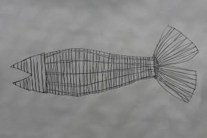 Fisch aus Draht (8)
