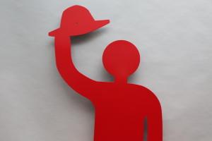 rote Skulptur (2)