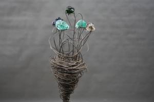 Blumen Skulptur (1)
