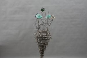Blumen Skulptur (2)