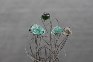 Blumen Skulptur (3)
