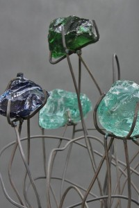 Blumen Skulptur (5)