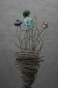 Blumen Skulptur (7)