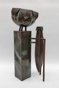 Doppeltes Gefäß aus Stahl (1)