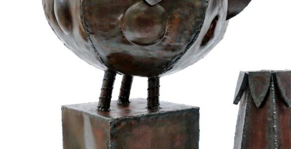 Doppeltes Gefäß aus Stahl (5)